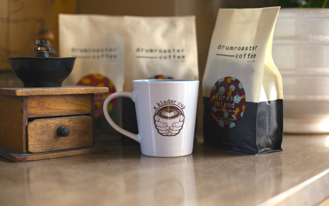 Drumroaster Coffee in Compostable Bags!