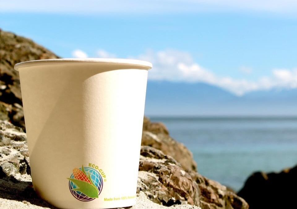 Why is it important for us to use compostable cups?