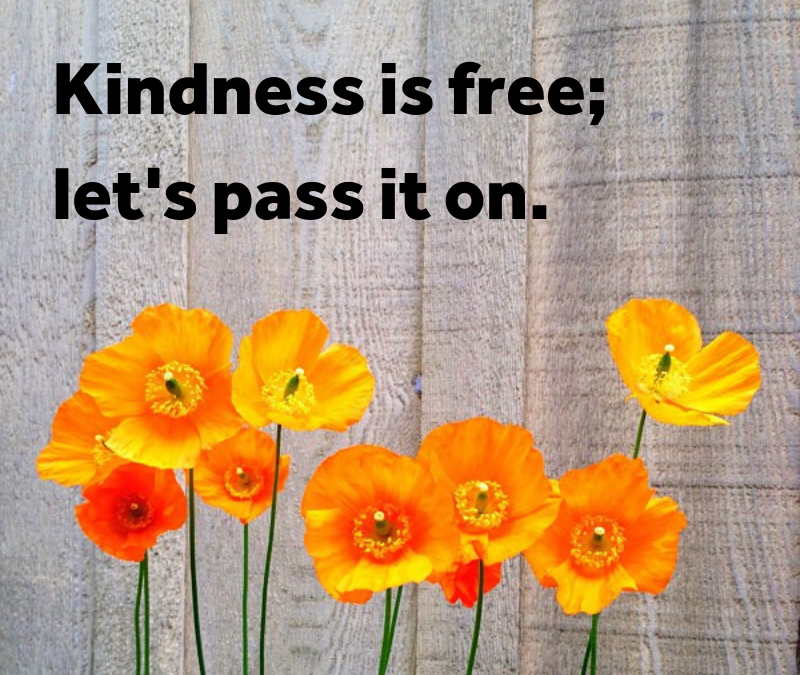 Let's make kindness go viral this year!