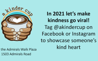 In 2021 let's make kindness go viral!